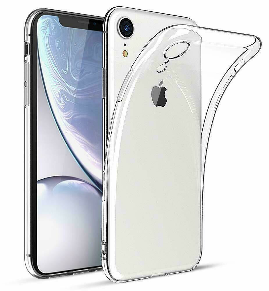 iPhone XR Soft Hülle Durchsichtig Silikon Case