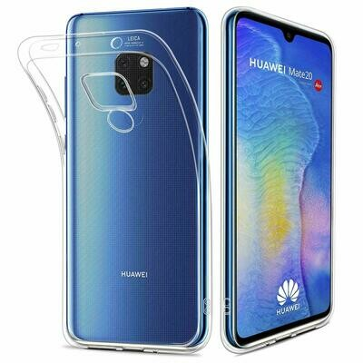 Huawei Mate 20 Liquid Crystal Hülle Cover Transparent