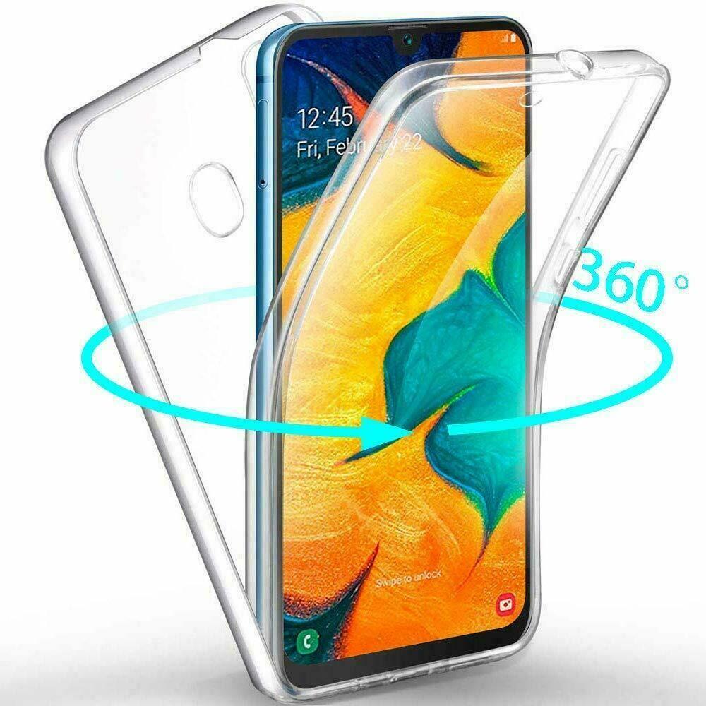 Samsung Galaxy A40 Panzerfolie 360 grad Hülle Vorne Hinten