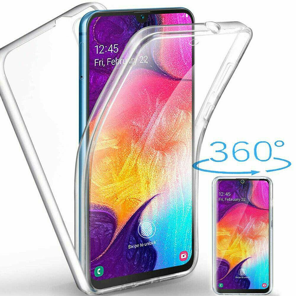 Samsung Galaxy A50 Panzerfolie 360 grad Hülle Vorne Hinten