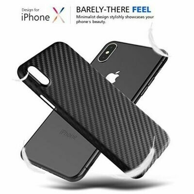 iPhone X / XS CARBON CASE Design Fiber Hülle Backcover