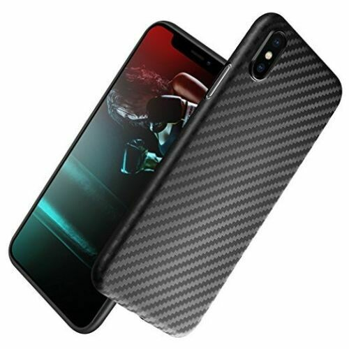 iPhone XR CARBON CASE Design Fiber Hülle Backcover