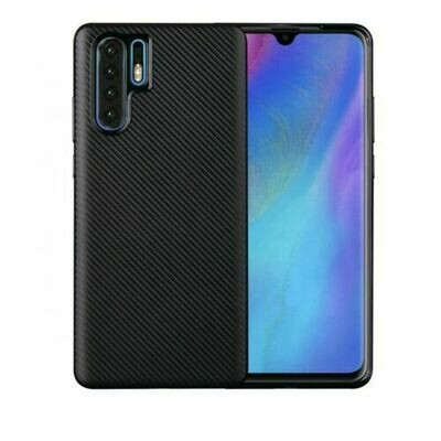 Huawei P30 Lite Hülle CARBON Case Flexibel Cover