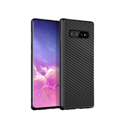 Samsung Galaxy S10+ Plus CARBON CASE Hülle Backcover