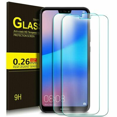 2x Huawei P20 Lite Panzerglas Schutzglas Displayschutz