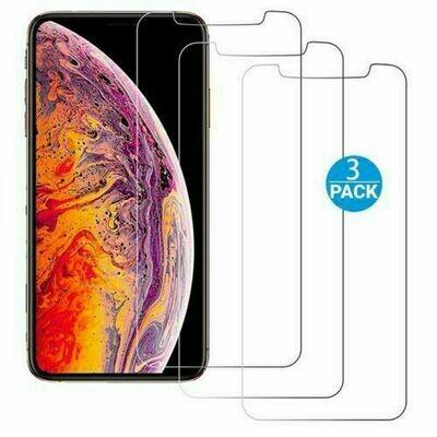3x Panzerglas für iPhone XR Displayschutzglas