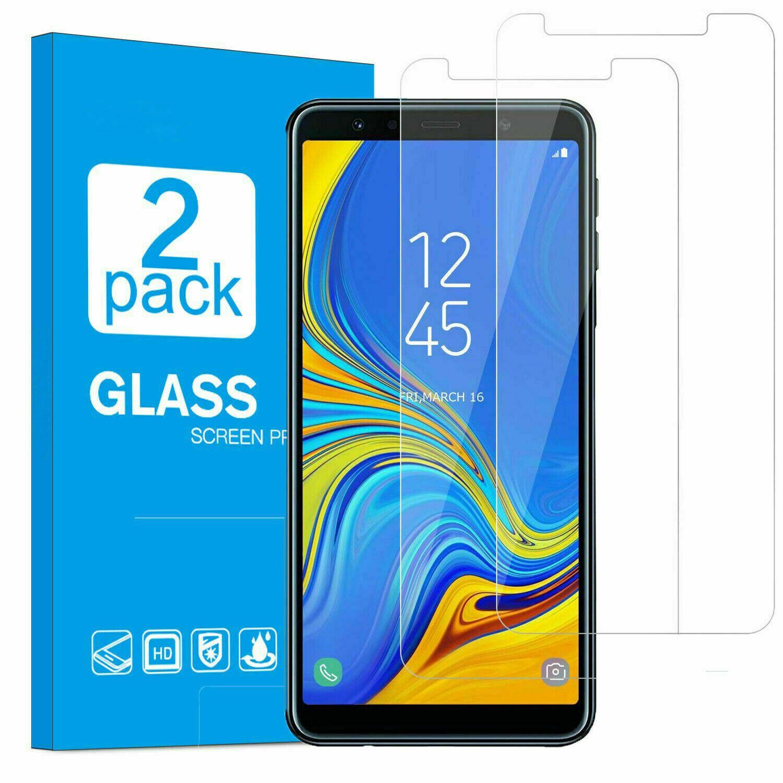 2x Samsung Galaxy A7 2018 Schutzglas Panzerglas