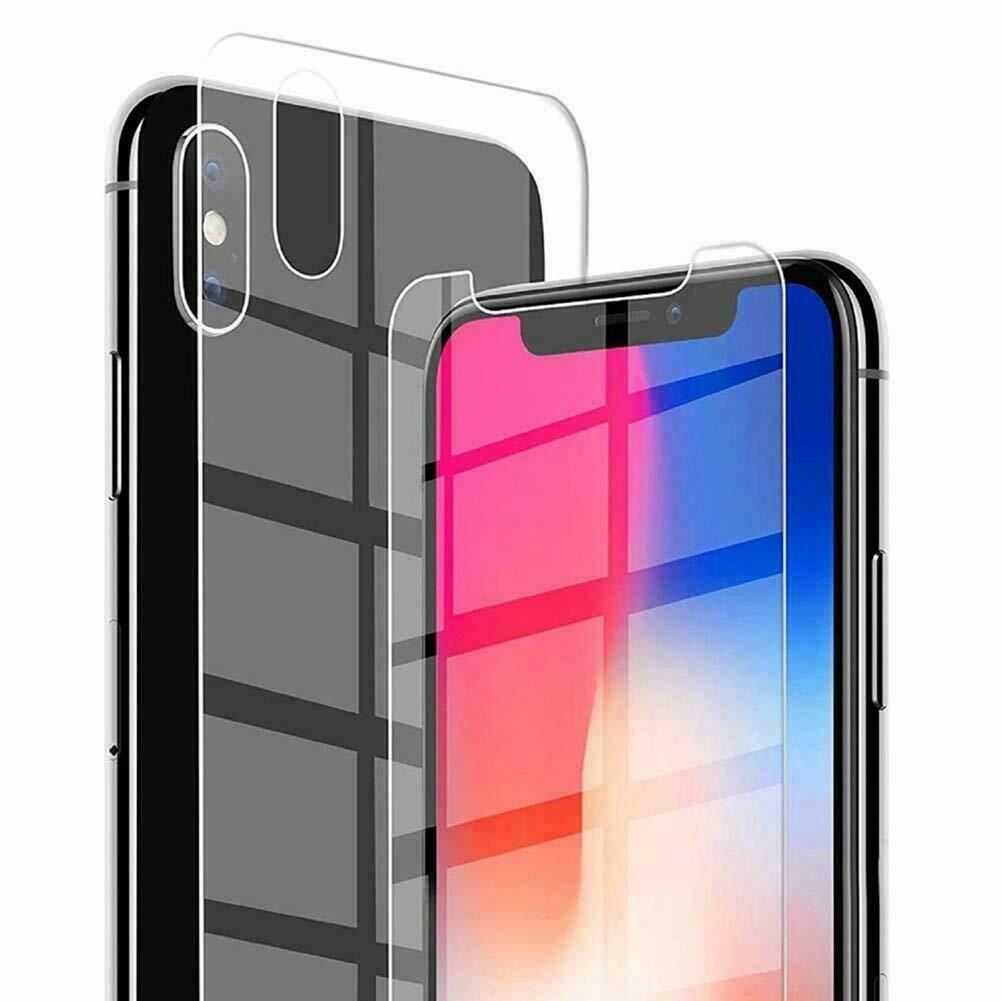 iPhone X XS Vorne und Hinten Panzerglas
