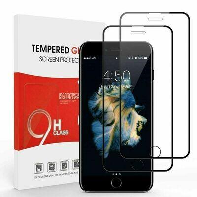 2x 6D Panzerglas für iPhone 8 iPhone 7