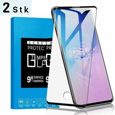 2x 3D Samsung Galaxy S10 Panzerglas