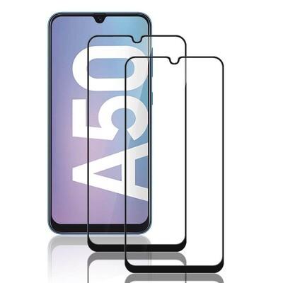 2x 6D Panzerglas für Samsung Galaxy A50