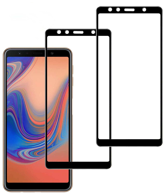 2x 6D Panzerglas für Samsung Galaxy A7 2018