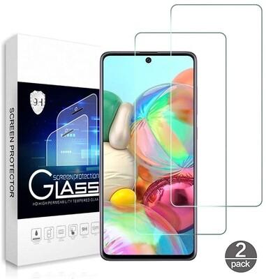 2x Samsung Galaxy A71 Schutzglas Panzerfolie