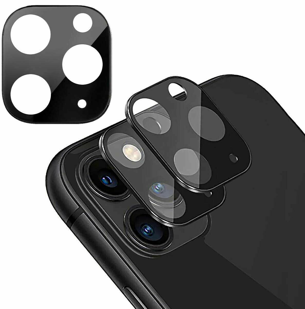 Kamera Schutz iPhone 11 / 11 Pro / 11 Pro Max Glas Metall Linsen