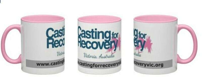 Casting for Recovery Victoria -  Wrap around coffee mug