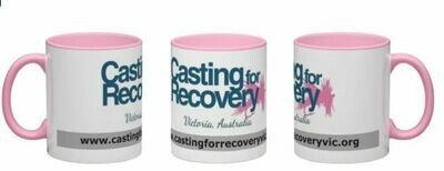 Casting for Recovery Victoria -  Wrap around coffee mug