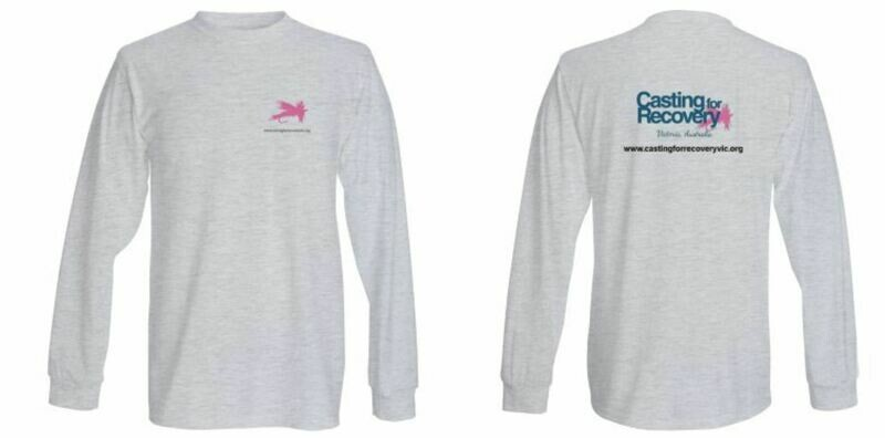 Casting for Recovery Victoria - Unisex Long sleeve top