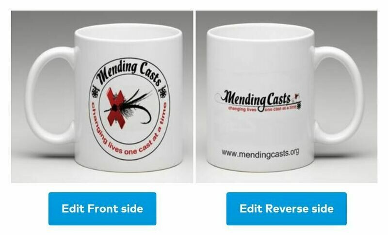 Mending Casts - Coffee Mug