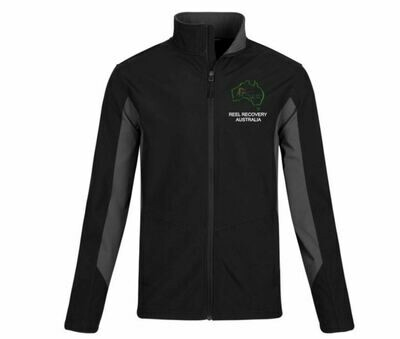 Reel Recovery Aus - Men's Core Colorblock Soft Shell Jacket