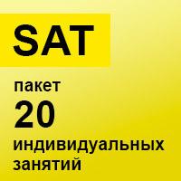 SAT. Пакет 20 индивидуальных занятий