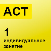 ACT. Индивидуальное занятие