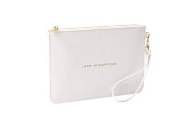 Pochette Glammy bianca - Looking Gorgeous