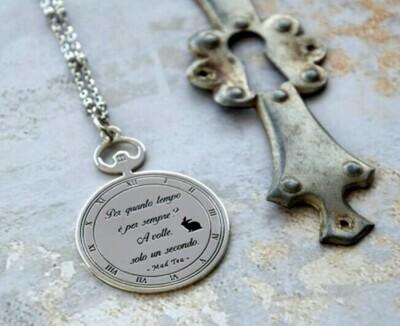 Collana Alice  - Orologio - Per quanto tempo è per sempre