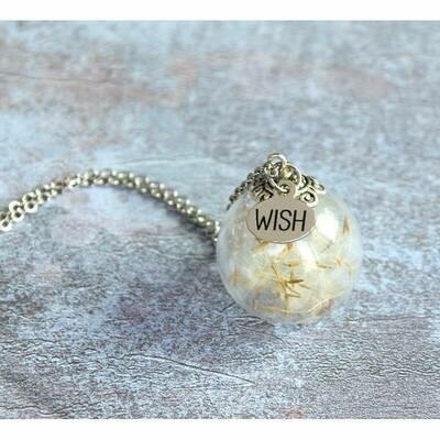 Collana Ampolla desideri - Soffione Make a wish