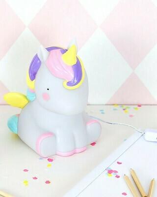 Lampada grande Led Unicorno