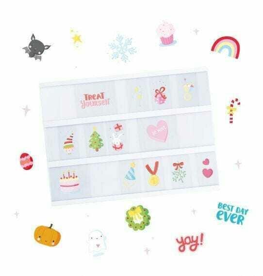 Kit aggiuntivo e accessori per lightbox - Let's Celebrate