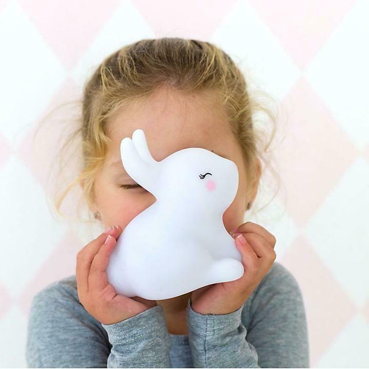 Lampada Led - Coniglietto bianco