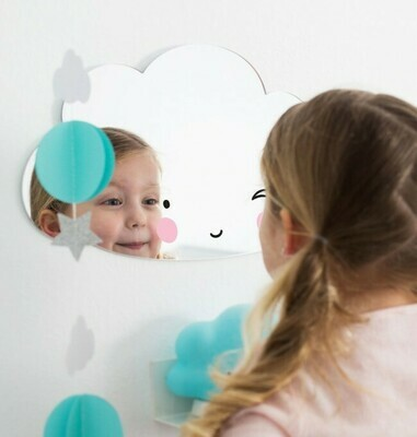 Specchio in Persplex  Nuvola