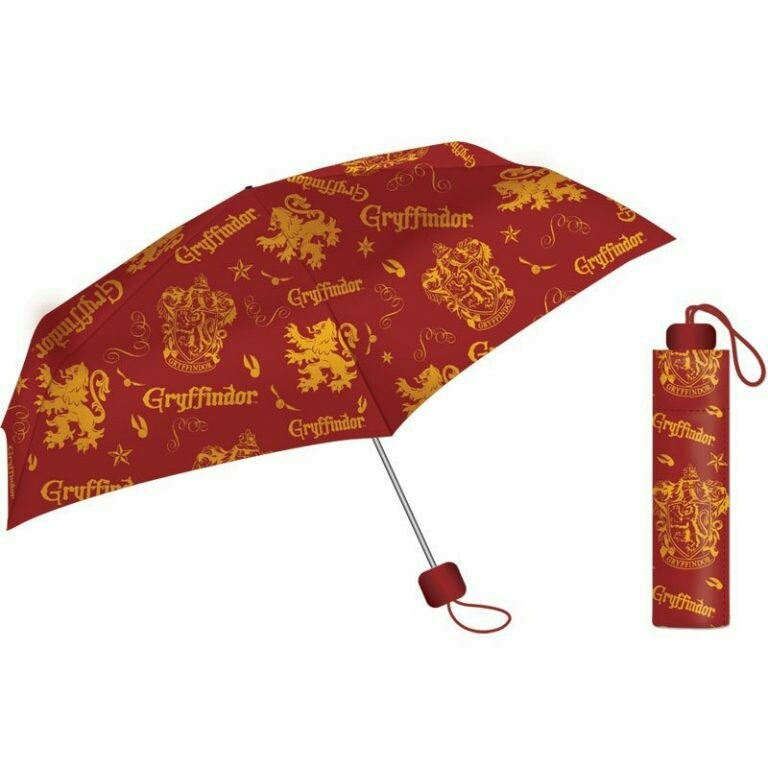 Ombrello pieghevole Harry Potter - Gryffondor