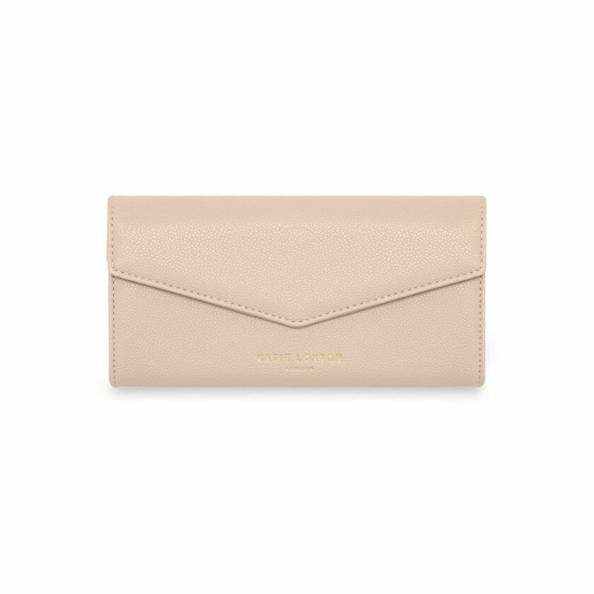 "Portafoglio rosa nude ""girls just wanna have funds"" - Katie Loxton"