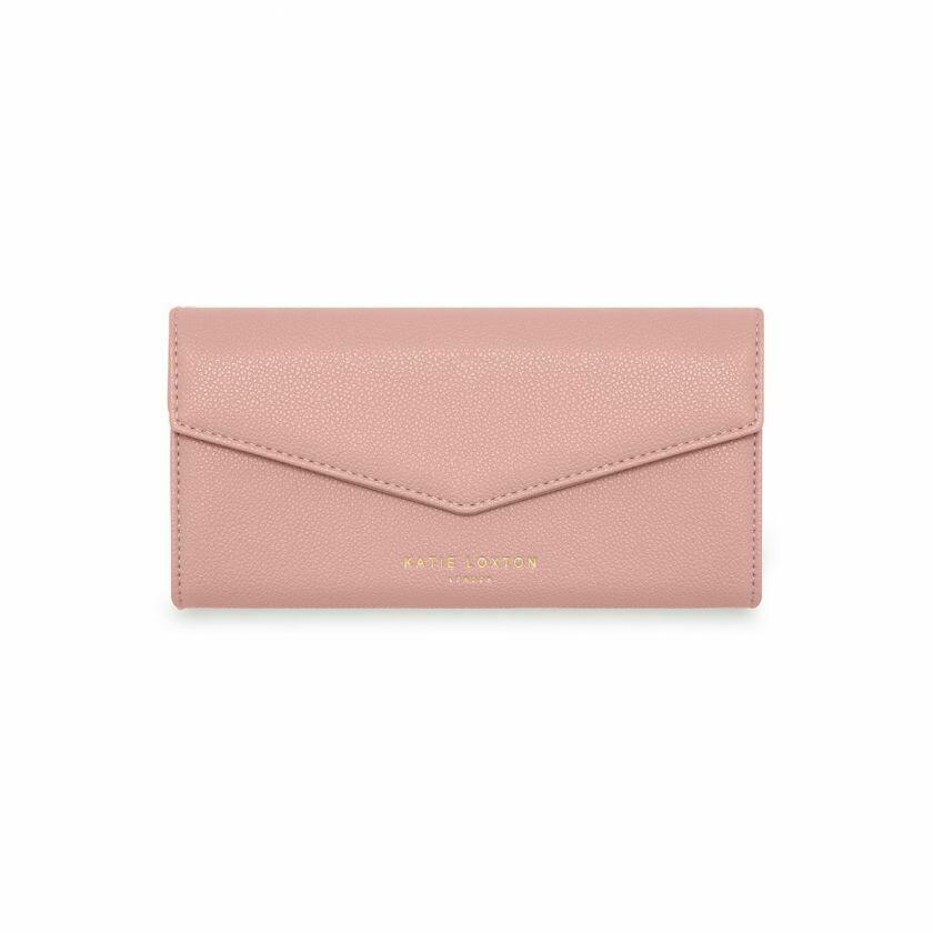 "Portafoglio rosa ""buy the things you really love"" - Katie Loxton"