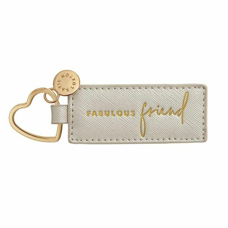 Portachiavi argento Fabulous Friend - Katie Loxton 973