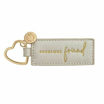 Portachiavi argento Fabulous Friend - Katie Loxton