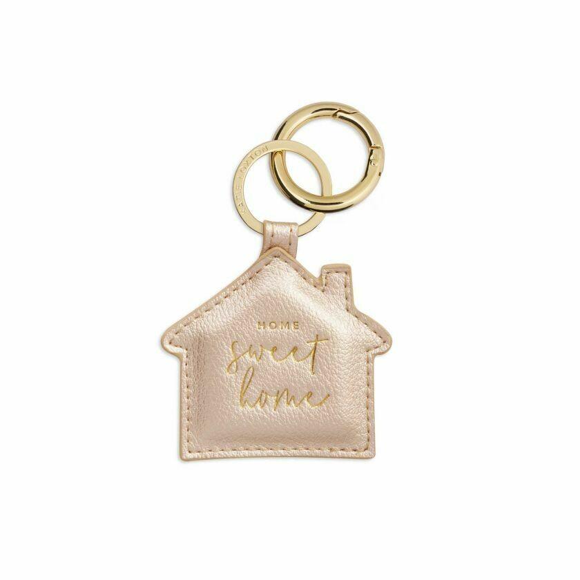 Portachiavi oro Casa Home Sweet Home - Katie Loxton