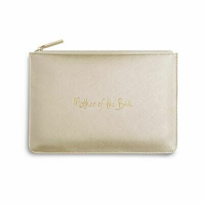 Pochette oro metallico mamma della sposa Mother of the Bride - Katie Loxton