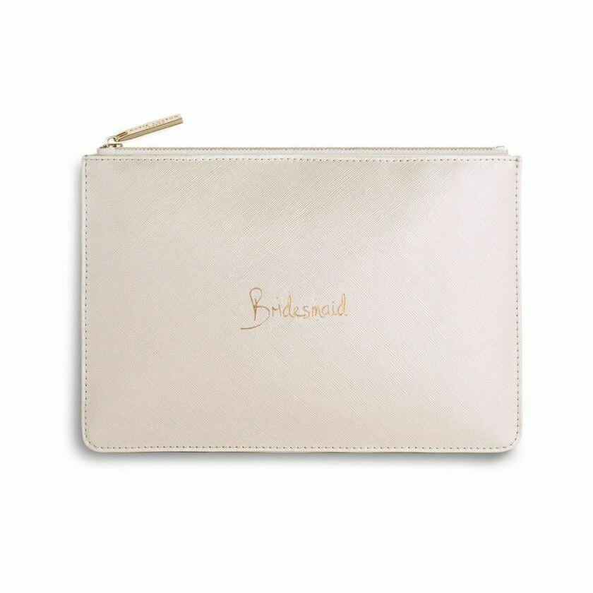 Pochette bianco perlato damigella Bridesmaid- Katie Loxton