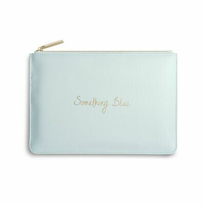 Pochette celeste sposa - something Blue- Katie Loxton
