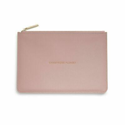 Pochette rosa Champagne Please - Katie Loxton