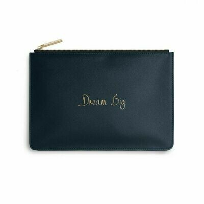 Pochette blu scuro amica  Dream Big - Katie Loxton