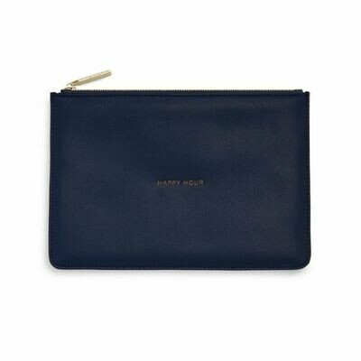 Pochette blu scuro Happy hour - Katie Loxton