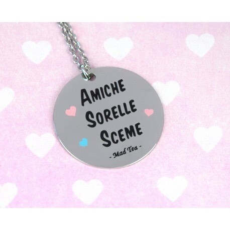 Collana Bla Bla Girls - Amiche Sorelle Sceme Mad Tea BBGC005