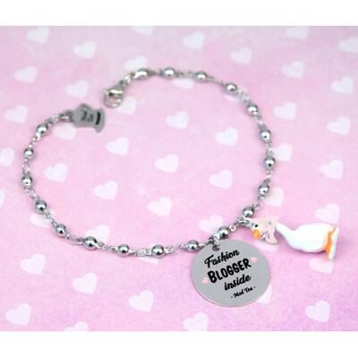 Bracciale Bla Bla Girls- Fashion Blogger Inside Mad Tea BBGB002