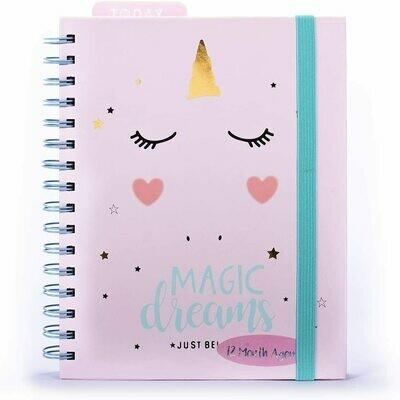 Agenda 2021 -  12 Mesi Settimanale  -Magic Dreams Unicorno