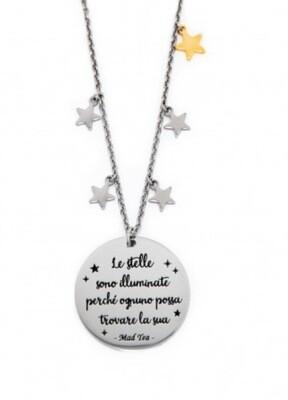 """Collana """"Le stelle sono illuminate perché ognuno un giorno possa trovare la sua"""""""