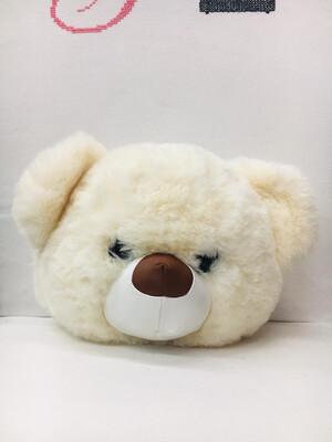 Borsa zaino orso bianco