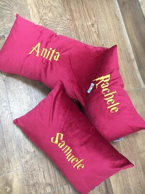 Cuscino personalizzato in nome  Harry Potter style